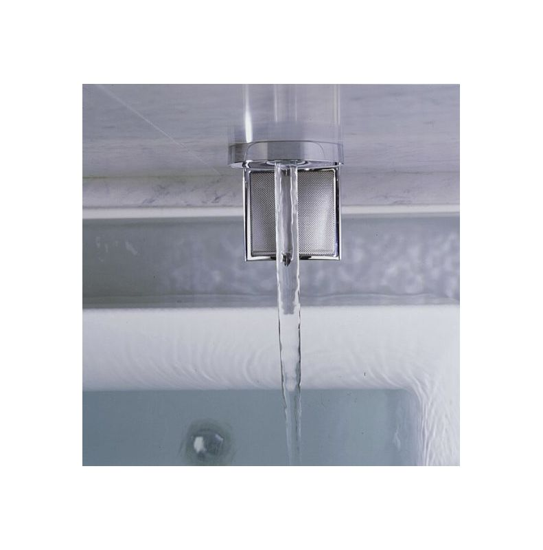 Bathtub Spigot 922 CP Polished Chrome Laminar Wall Or Ceiling Mounted Tub Faucet