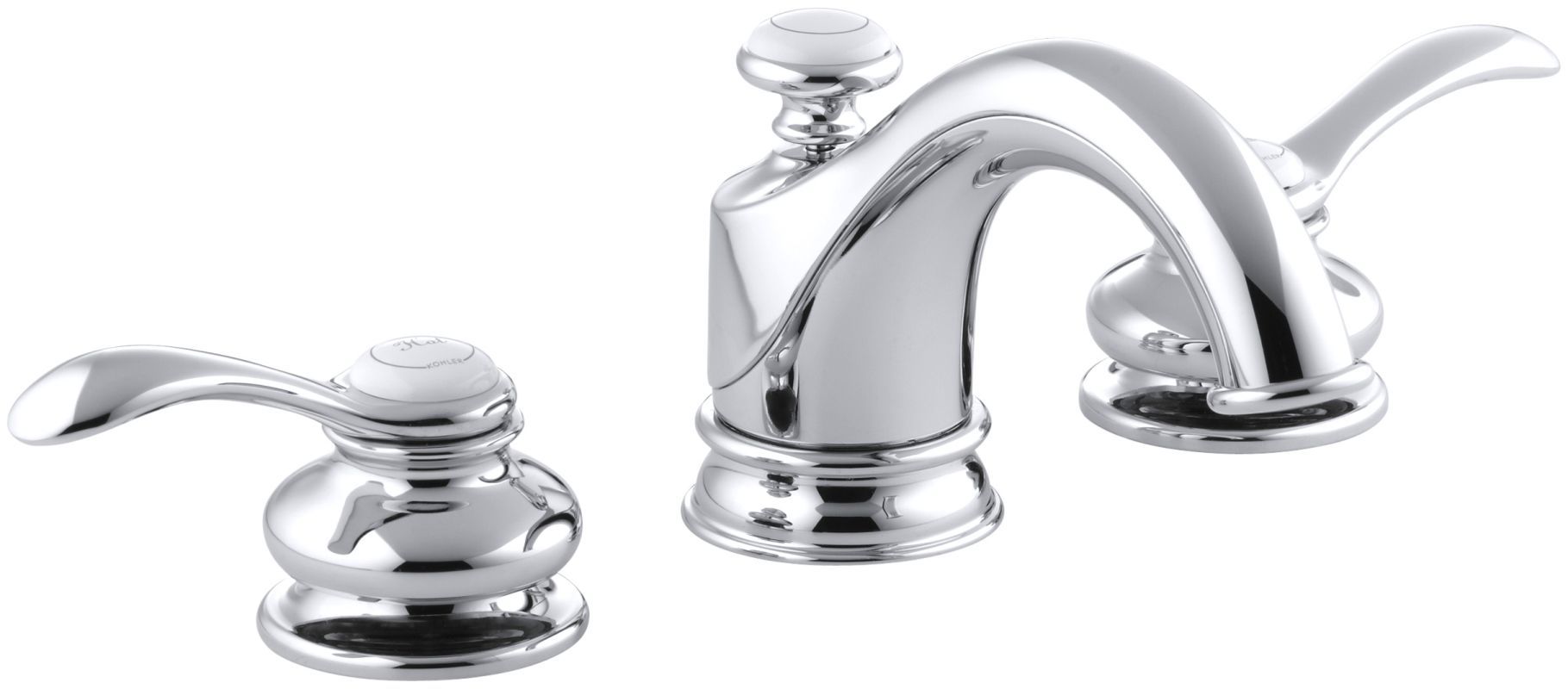 Bathroom Faucets: K-12265-4-CP In Polished Chrome By Kohler