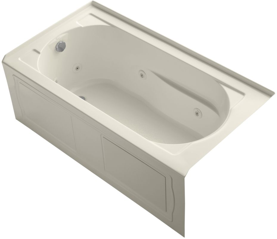 Faucet Com K 1357 La 47 In Almond By Kohler