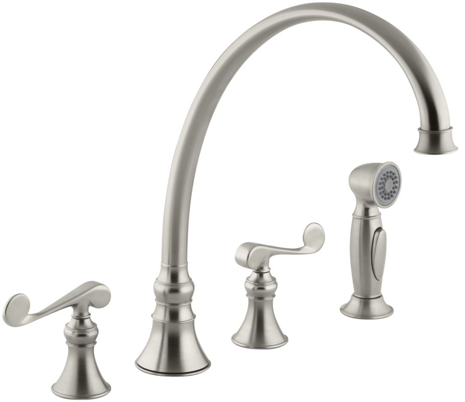 Faucet Com K 16111 4 Bn In Brushed Nickel By Kohler
