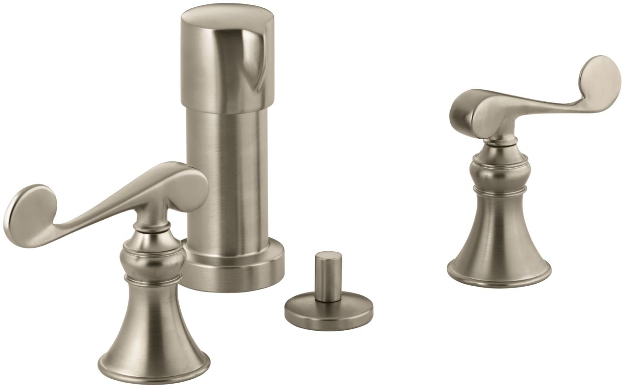Faucet.com K-16132-4-BN in Brushed Nickel by Kohler