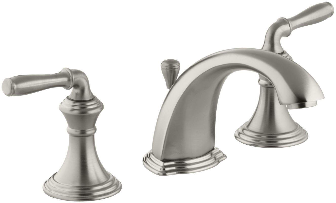 Devonshire Kohler Faucet : Kohler K-394-4-BN Brushed Nickel Devonshire Widespread Bathroom Faucet ...