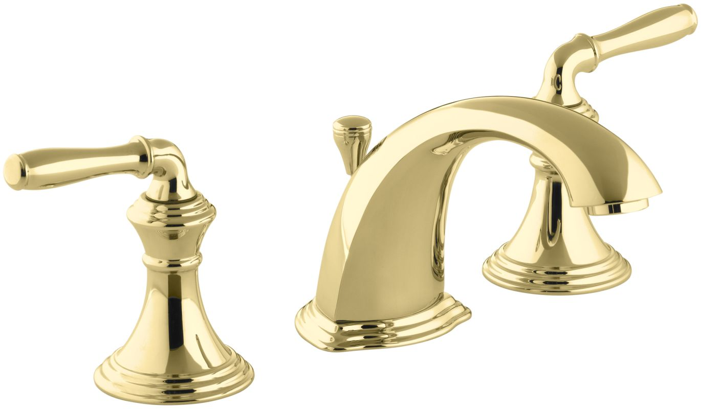 faucet k 394 4 pb in polished brass by kohler 19019