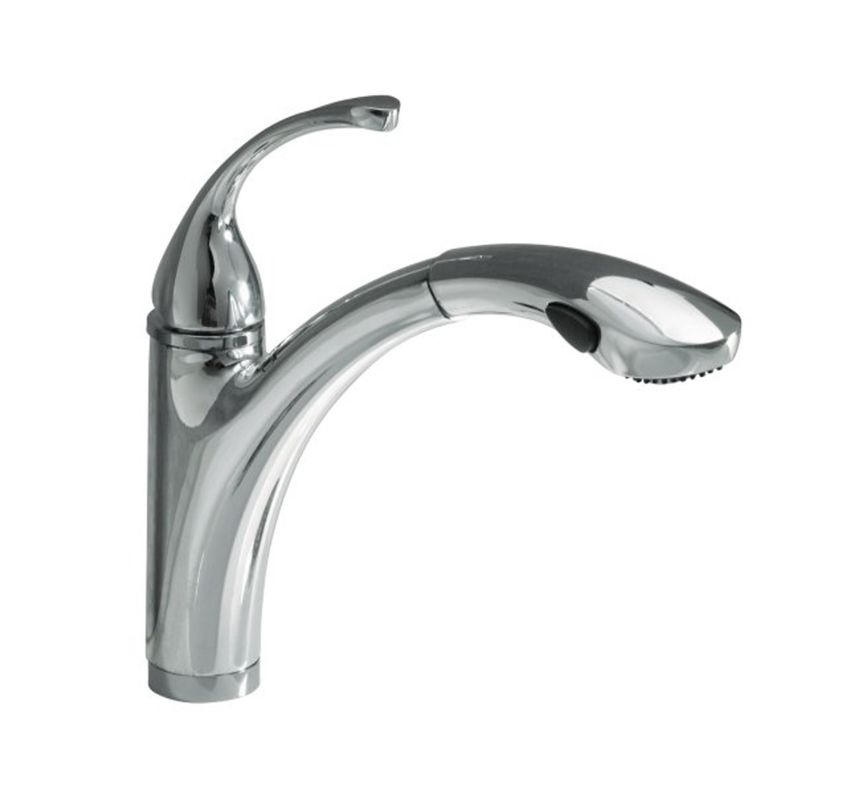 Kitchen Faucets Kohler : Faucet.com K-5814-4/K-10433-BV in Brushed Bronze Faucet by Kohler