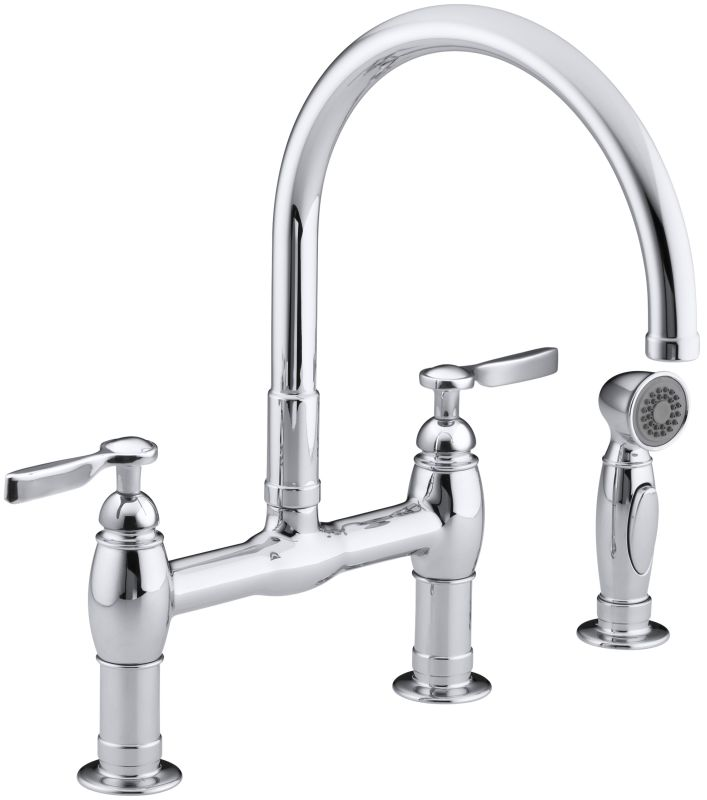 Faucet.com K-6131-4-CP in Polished Chrome by Kohler