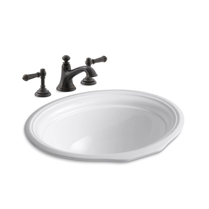 Faucet.com | K-72759-4/K-2336-2BF in Oil Rubbed Bronze by ...