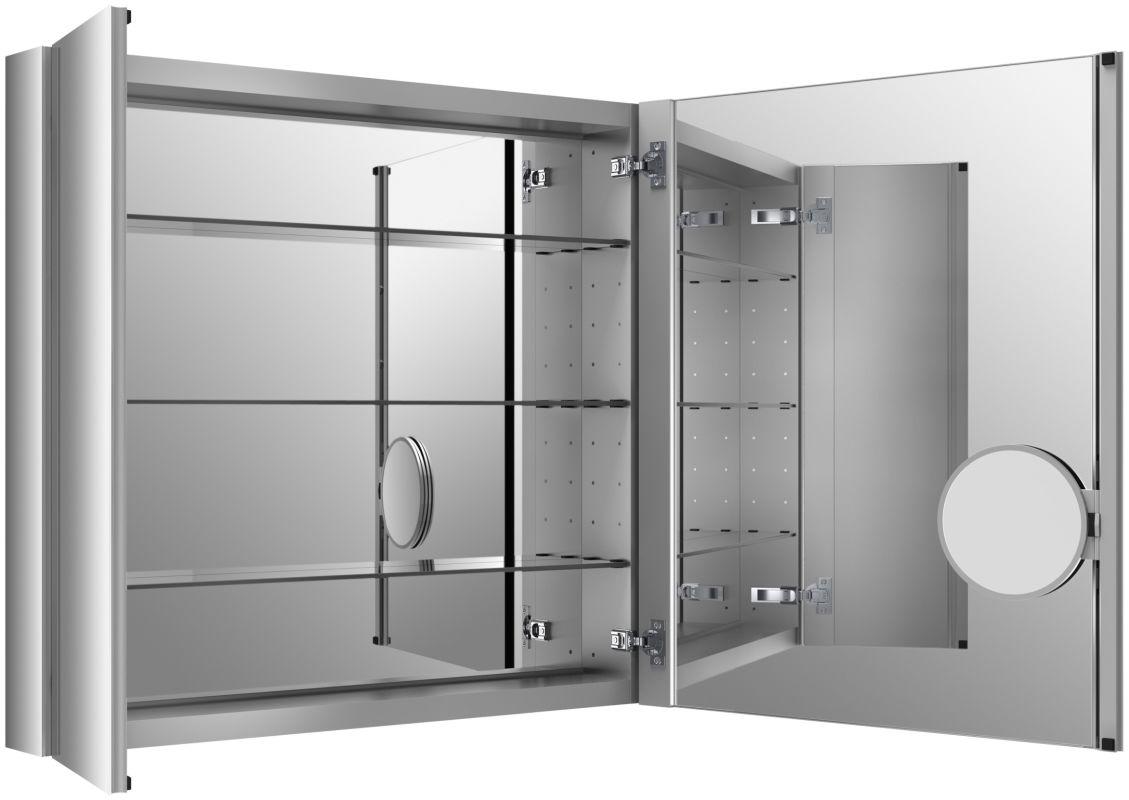 kohler k 99009 na verdera 34 mirrored bathroom cabinet with mirrored