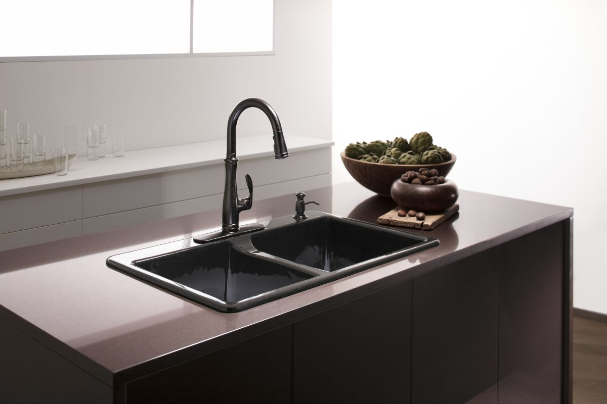 Faucet.com | K-560-2BZ in Oil Rubbed Bronze (2BZ) by Kohler