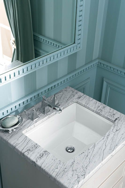 Kohler Archer Undermount Bathroom Sink : Kohler K-2355-0 White Archer 17-5/8