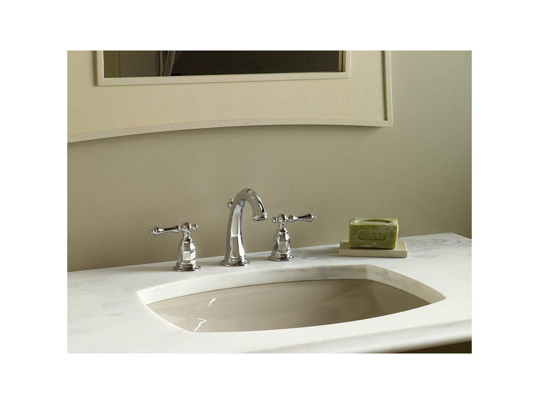 Kohler Lavatory Sink : ... Kohler K-2382-96 Biscuit Kelston 19