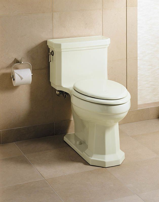 Kohler K-3324-96 Biscuit Kathryn One Piece Elongated Toilet with 12 ...