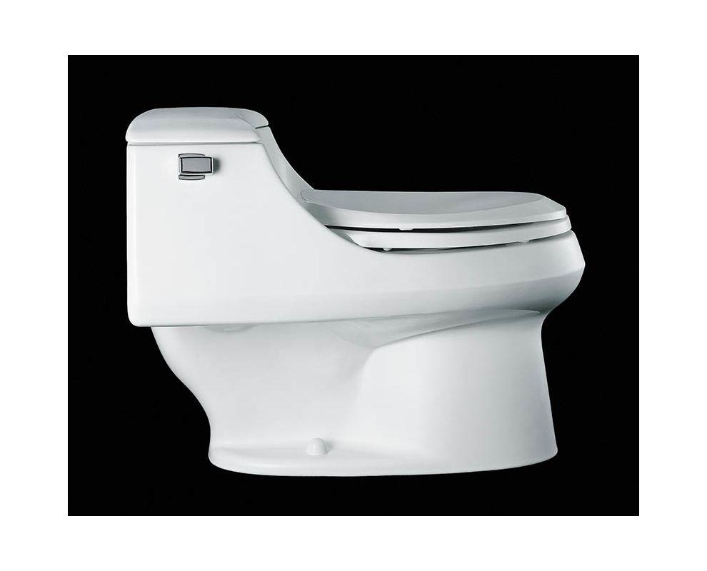 Http Www Faucet Com Kohler K 3466 Almond San Raphael One Piece Elongated Toilet With Quiet Close Seat F167996