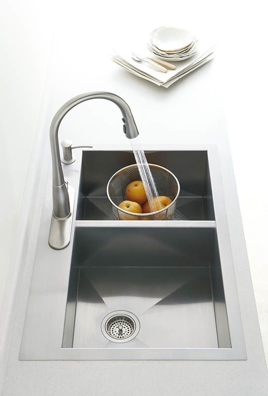 Kohler K-3820-4 Vault Collection Kitchen Sink