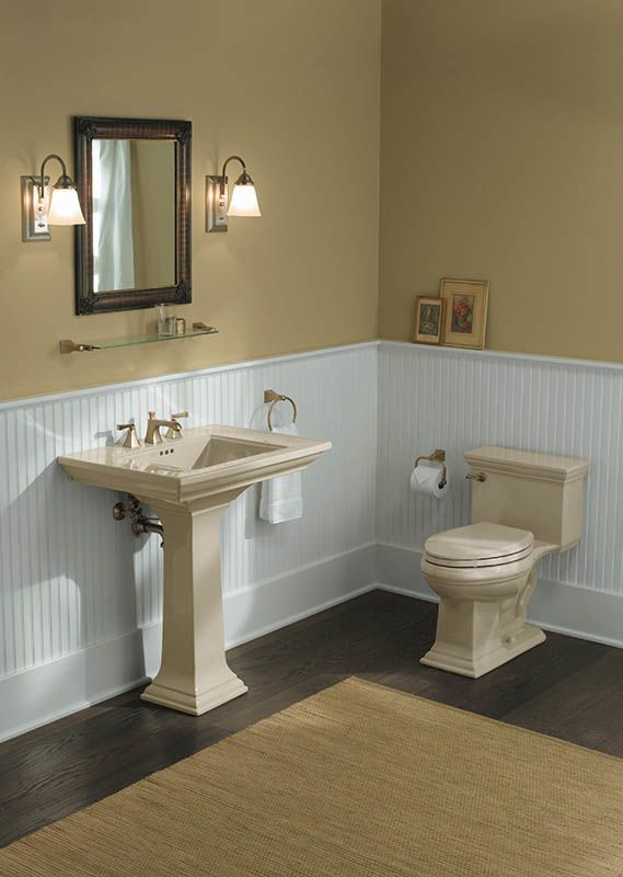 kohler memoirs pedestal sink by faucet com k 454 4v bn in brushed nickel by kohler