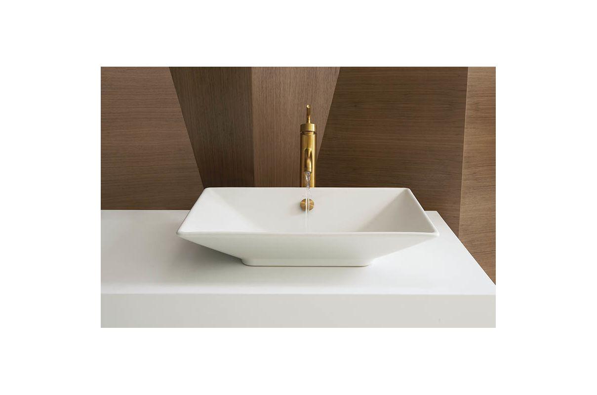 Kohler Lavatory Sink : Kohler K-4819-47 Almond Reve 21-5/8