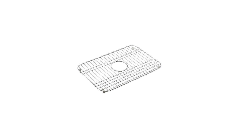 Kohler Sink Protectors : Kohler K-6003-ST Stainless Steel Single Bowl Stainless Steel Sink Rack ...