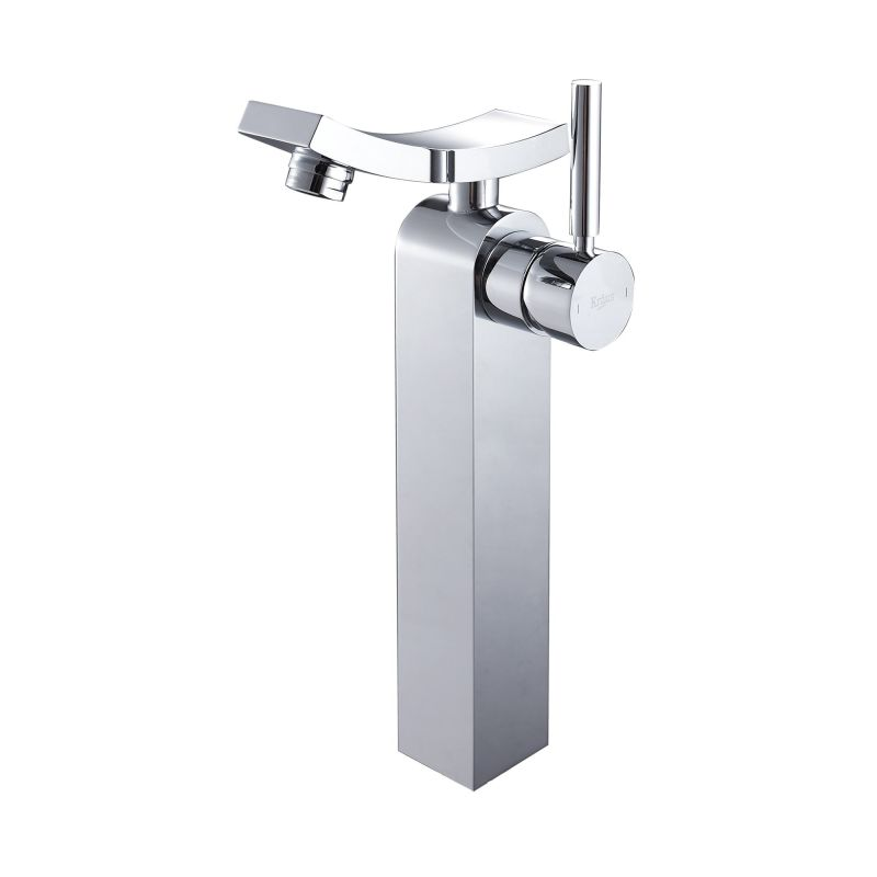 Kraus Bathroom Faucets : Kraus KEF-14300CH Chrome Unicus Single Hole Vessel Bathroom Faucet