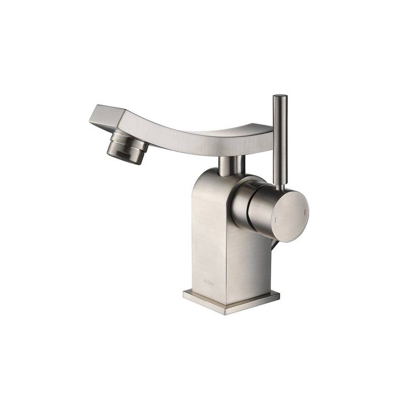 Kraus KEF-14301BN Brushed Nickel Single Hole Bathroom Faucet from the ...