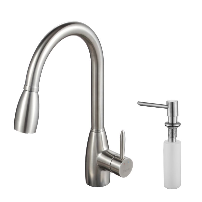 Where Are Kraus Faucets Made : Kraus KPF-2130-SD20 Stainless Steel Stainless Steel Pullout Spray ...