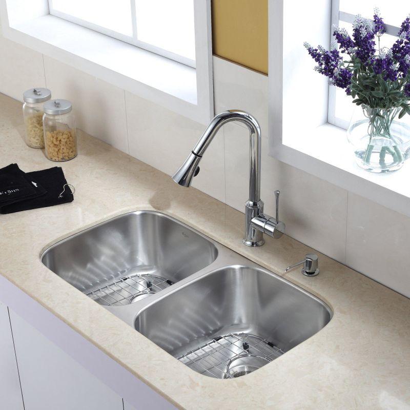 Faucet Com Kbu22 Kpf1650 Ksd30ch In Chrome By Kraus