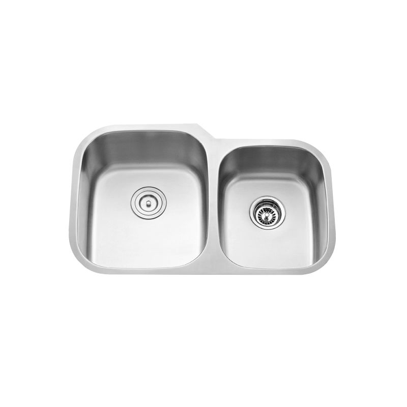 Kraus KBU24-KPF-1602SS Stainless Steel / Stainless Steel Kitchen Combo ...
