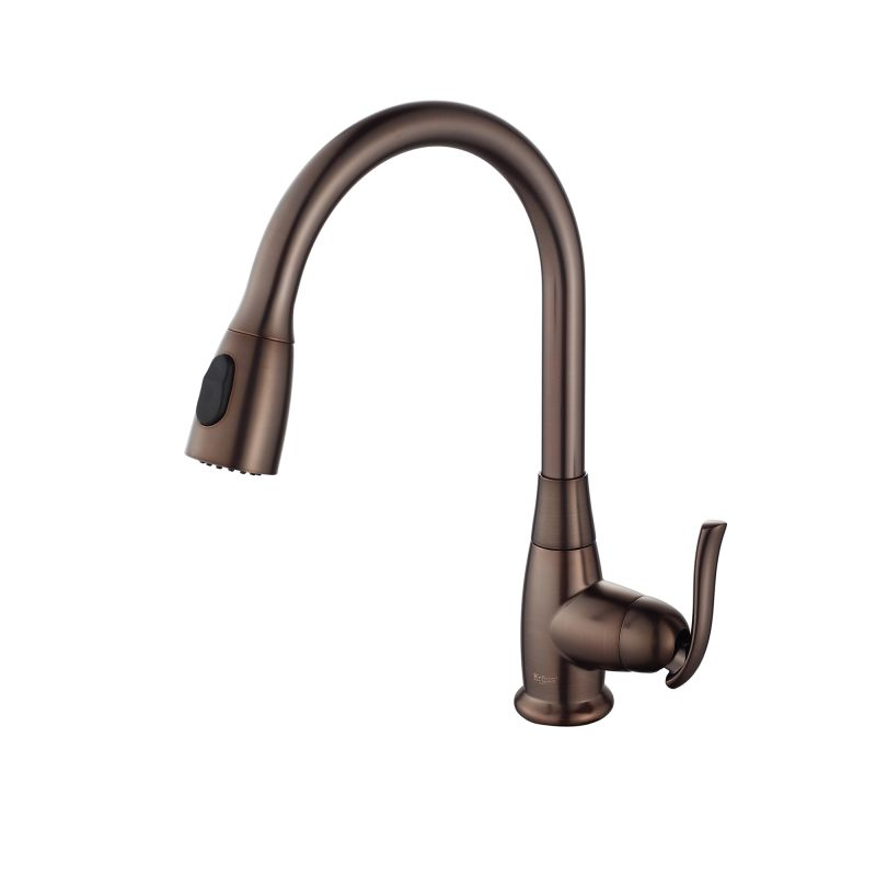 Faucet.com KGD-433B-KPF-2230ORB in Black Onyx / Oil Rubbed Bronze by ...