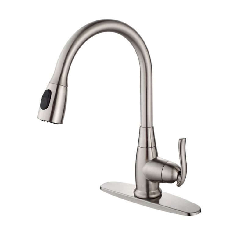 Faucet.com KHF200-30-KPF2230-KSD30CH in Chrome by Kraus