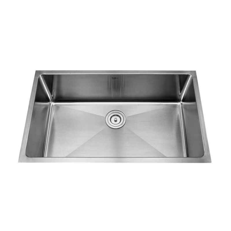 Where Are Kraus Sinks Manufactured : ... Gauge Stainless Steel Kitchen Sink with Pullout Stream Kitchen Faucet
