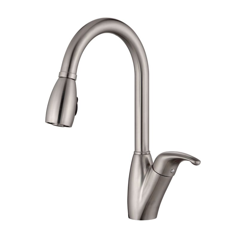 Kraus Bathroom Faucets : Kraus KPF-2120 Stainless Steel Stainless Steel Pullout Spray Kitchen ...