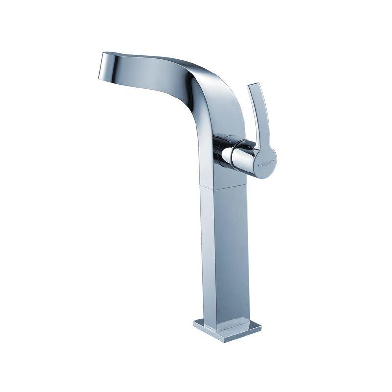 Kraus Faucet Installation : Kraus C-GV-101-19mm-15100CH Chrome Bathroom Combo - 17