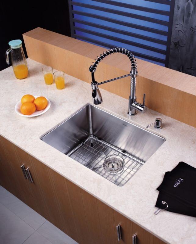 Kraus Sink Grid : ... Steel Stainless Steel Bottom Grid for Kraus KHU-101-23 Kitchen Sink