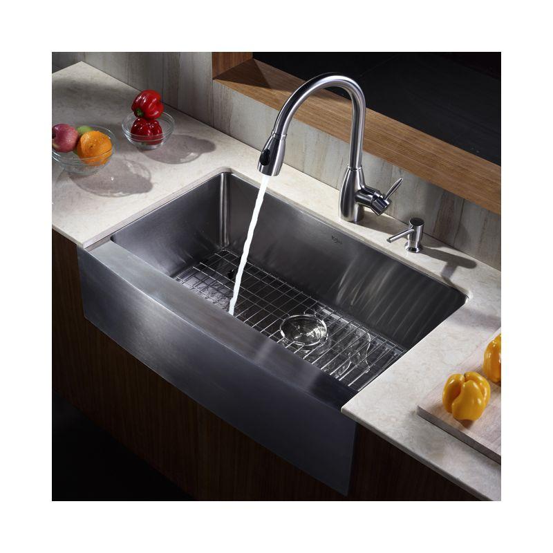 Kraus Sink Grid : ... Steel Stainless Steel Bottom Grid for Kraus KHF-200-33 Kitchen Sink
