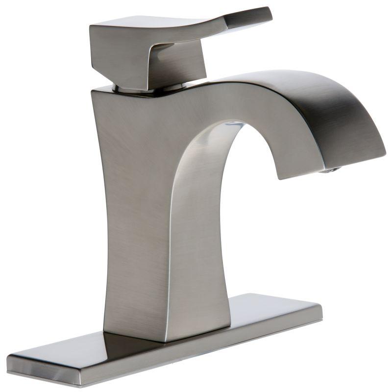 Faucet Com Mirwsvl100bn In Brushed Nickel By Mirabelle