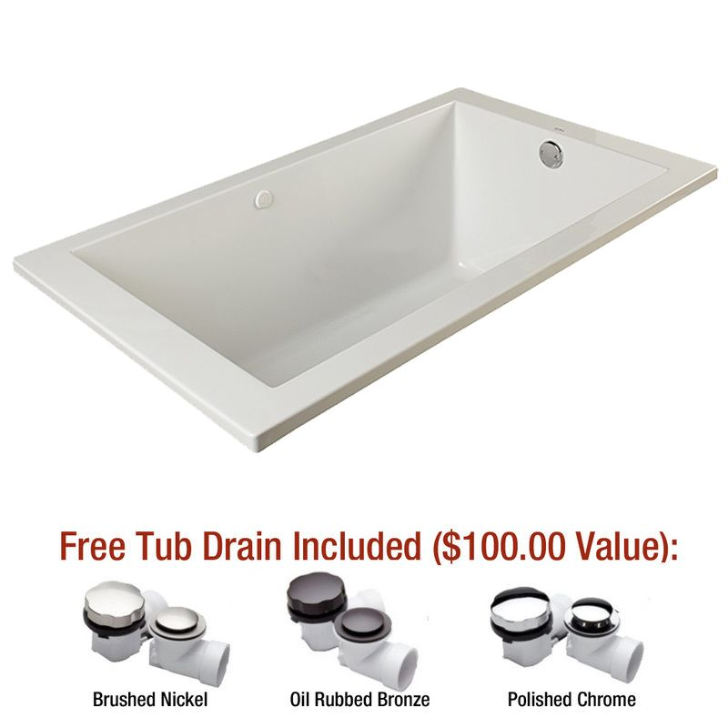 Faucet.com MIREDA7236WH in White by Mirabelle