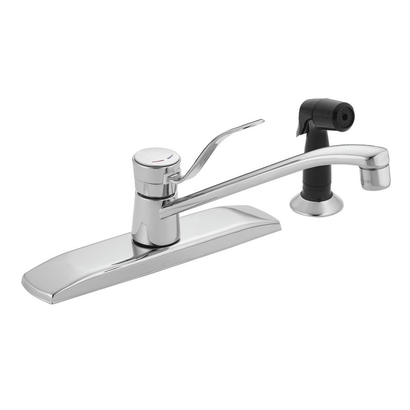how to replace a moen kitchen faucet faucet com 8720 in chrome by moen 2138