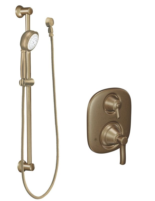 603az In Antique Bronze By Moen