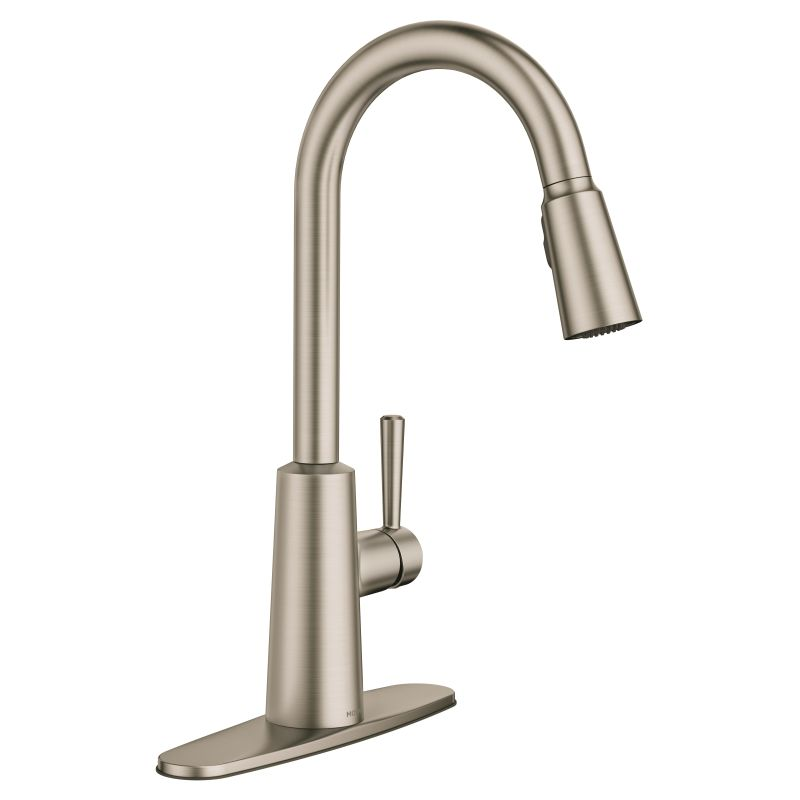 faucet 7402srs in spot resist stainless by moen