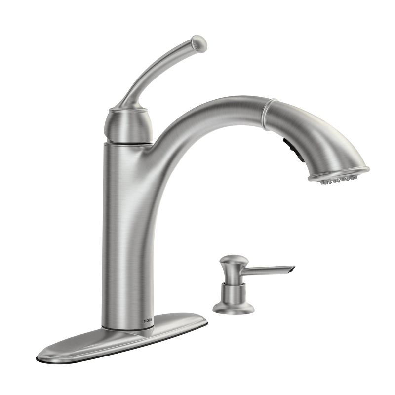 faucet 87047srs in spot resist stainless by moen