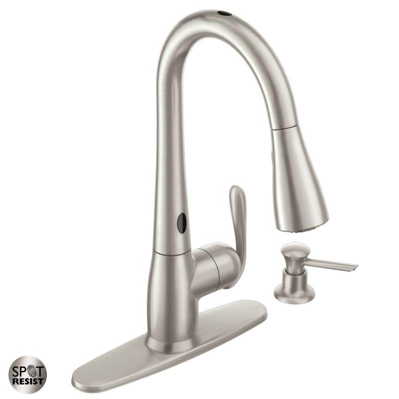 gallery of motion sensor kitchen faucet home depot