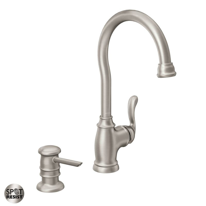 Faucet Com 87682srs In Spot Resist Stainless By Moen