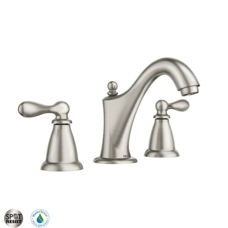 faucet ca84440srn in spot resist brushed nickel by moen