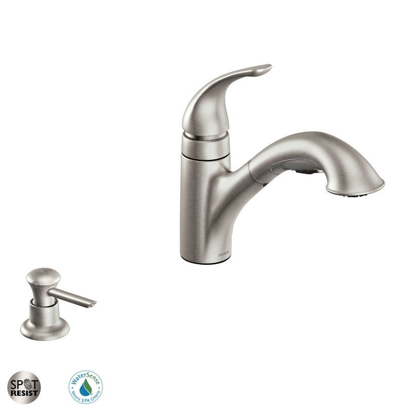 faucet ca87550srssd in spot resist stainless by moen