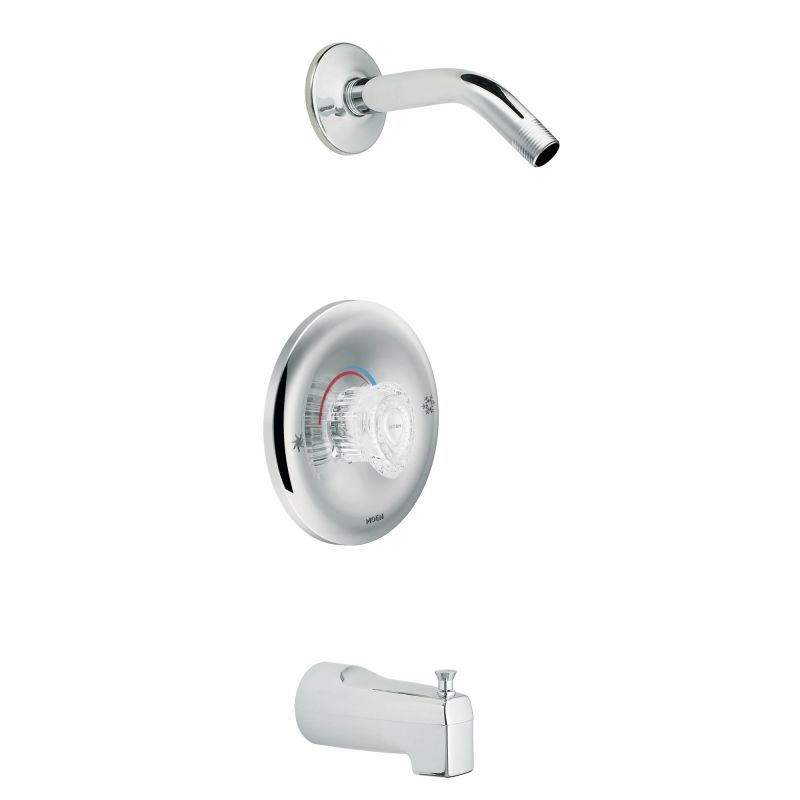 and shower trim and tub spout from the chateau collection less valve