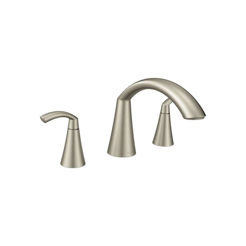 faucet com t373bn in brushed nickel by moen faucet com 4507bn in brushed nickel by moen