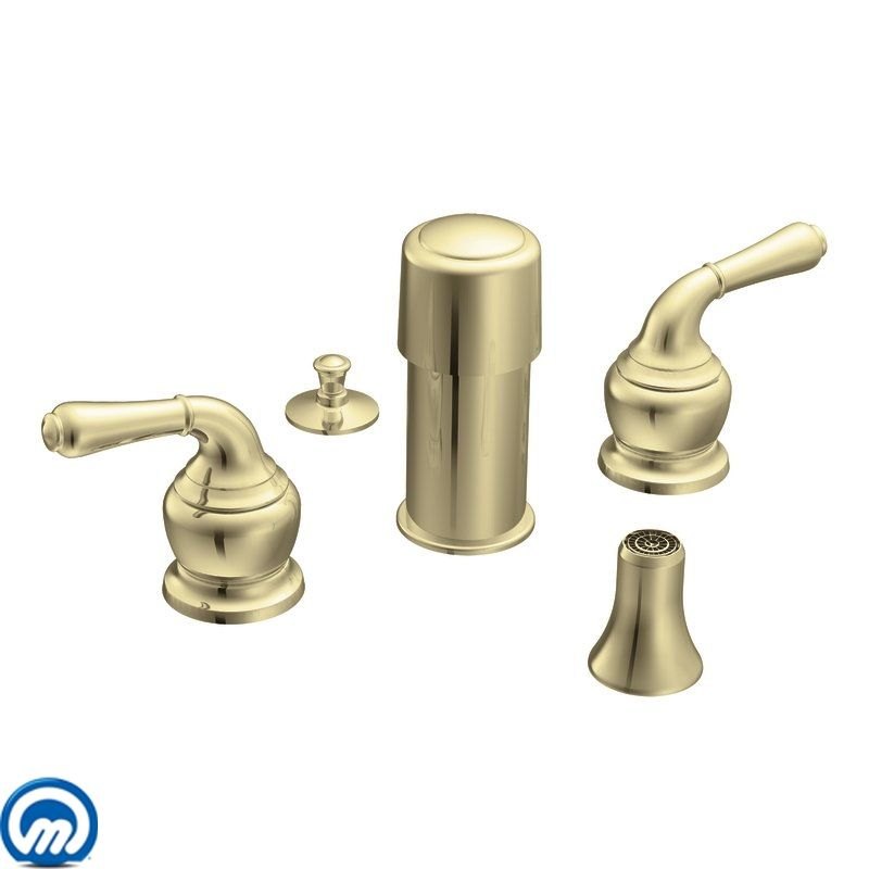Moen Polished Brass Bathroom Faucets: T5270P In Polished Brass By Moen
