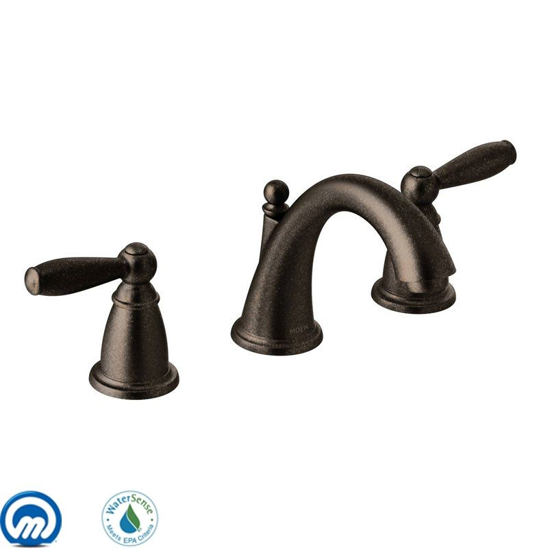 T6620orb in oil rubbed bronze by moen for Bathroom faucets for less