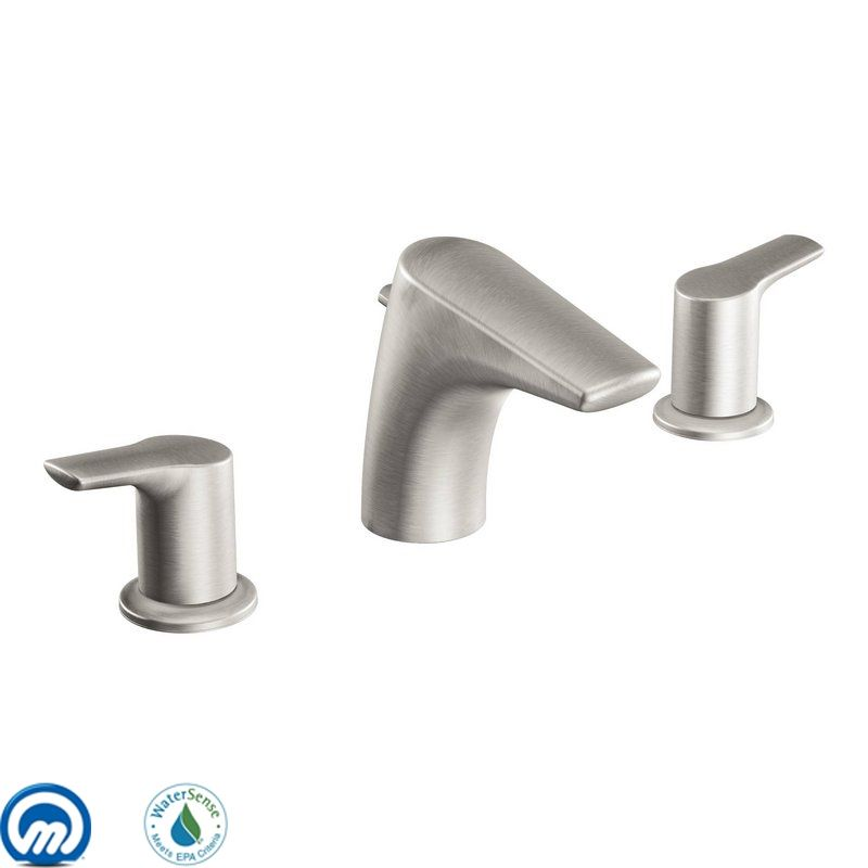 T6820bn in brushed nickel by moen for Bathroom faucets for less
