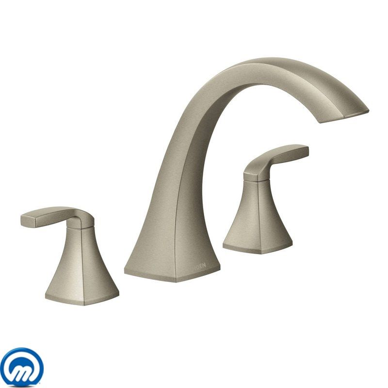 faucet com t693bn in brushed nickel by moen