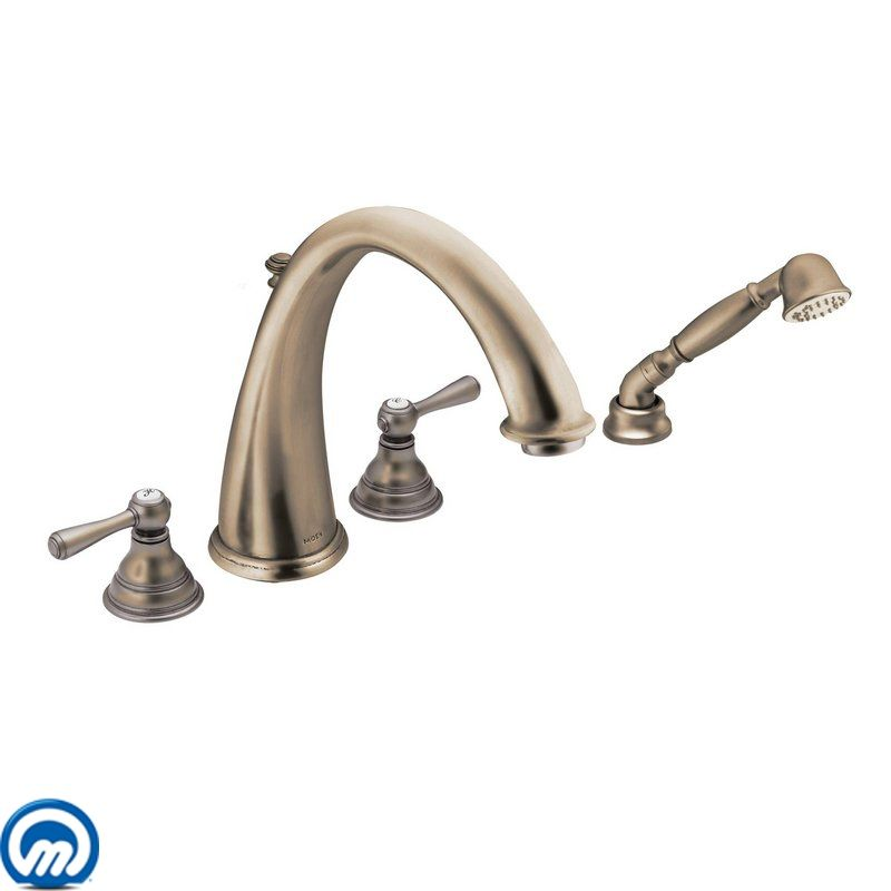 T922az In Antique Bronze By Moen