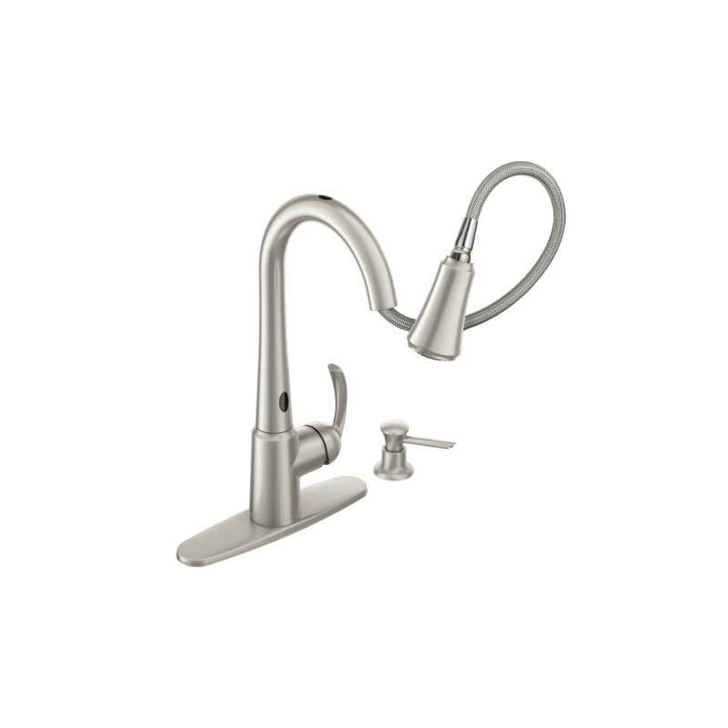 Moen Motionsense Kitchen Faucet 28 Images Moen Motionsense Delaney Pulldown Kitchen Faucet W